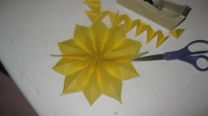 s f open flower